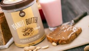 Batido de Manteiga de Amendoim com Whey de Chocolate