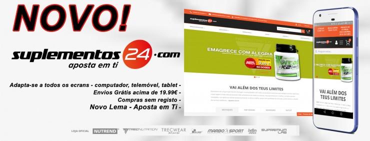O Suplementos24 tem um novo site