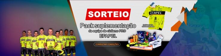 Sorteio de Natal - Pack de Suplementação EFAPEL